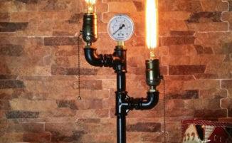 12 esempi di lampade steampunk e in stile industriale