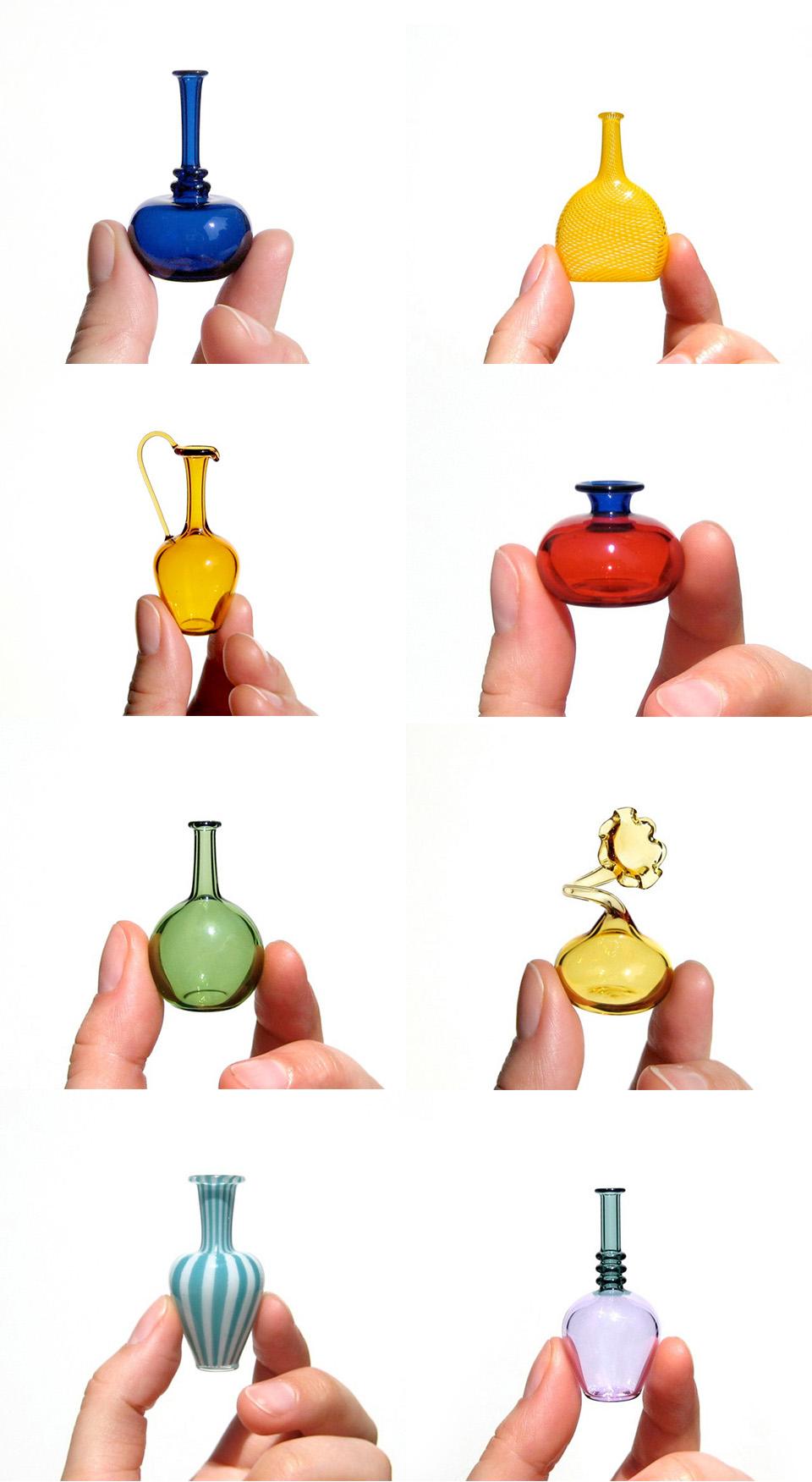 miniature-vetro-soffiato-a-mano-bicchieri-bottiglie-vasi-kiva-ford-6