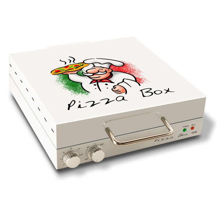 Pizza box oven forno portatile per pizza 2 keblog for Forno per pizza portatile