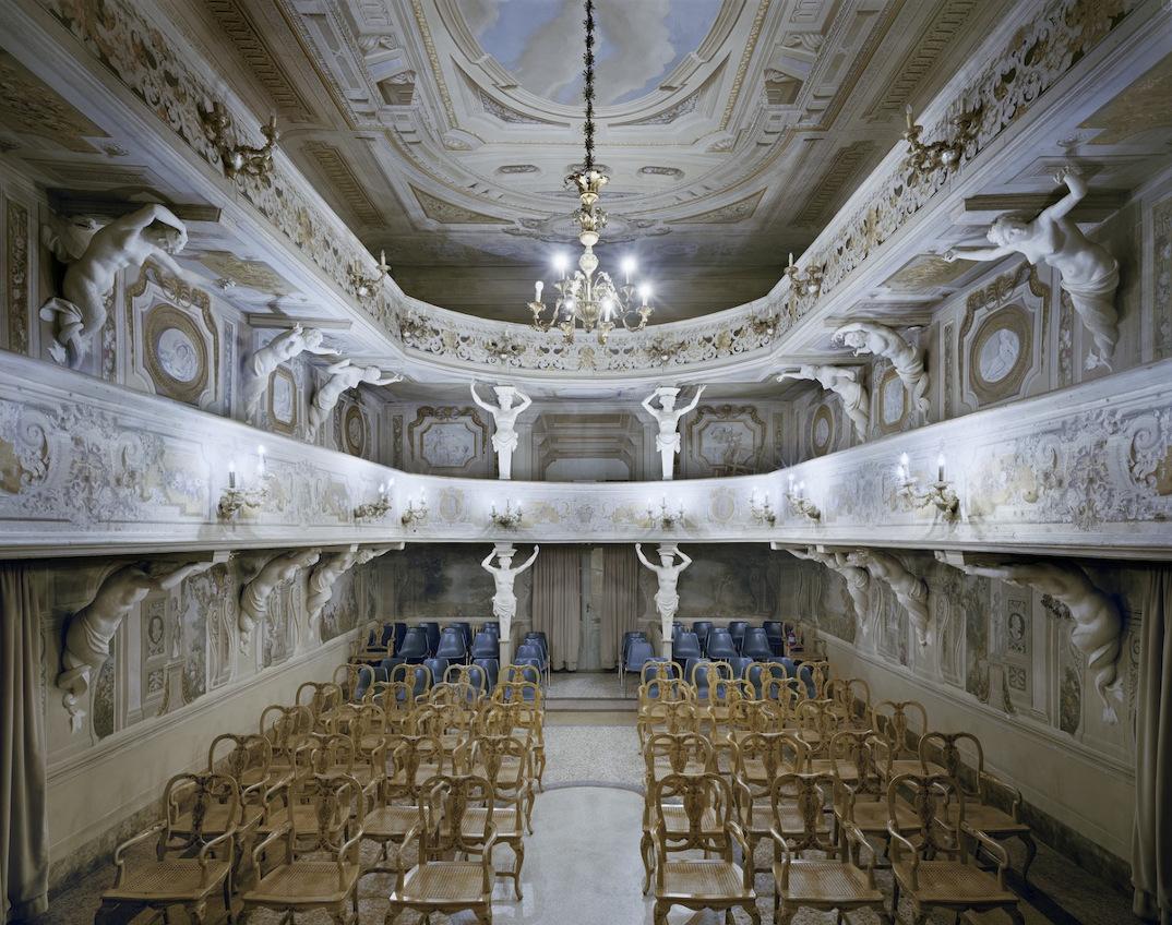 Teatro Di Villa Aldrovandi Mazzacorati Bologna