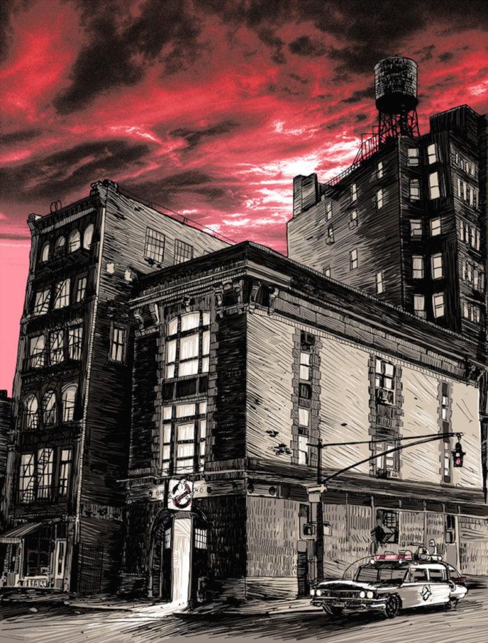 Ghostbusters-acchiappafantasmi-illustrazioni