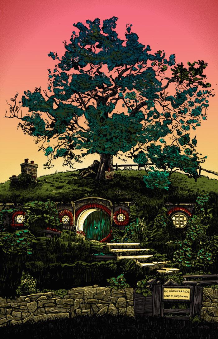 Lord of the Rings-il-signore-degli-anelli-illustrazioni