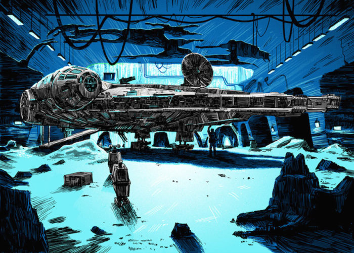 Star-Wars-guerre-stellari-illustrazioni