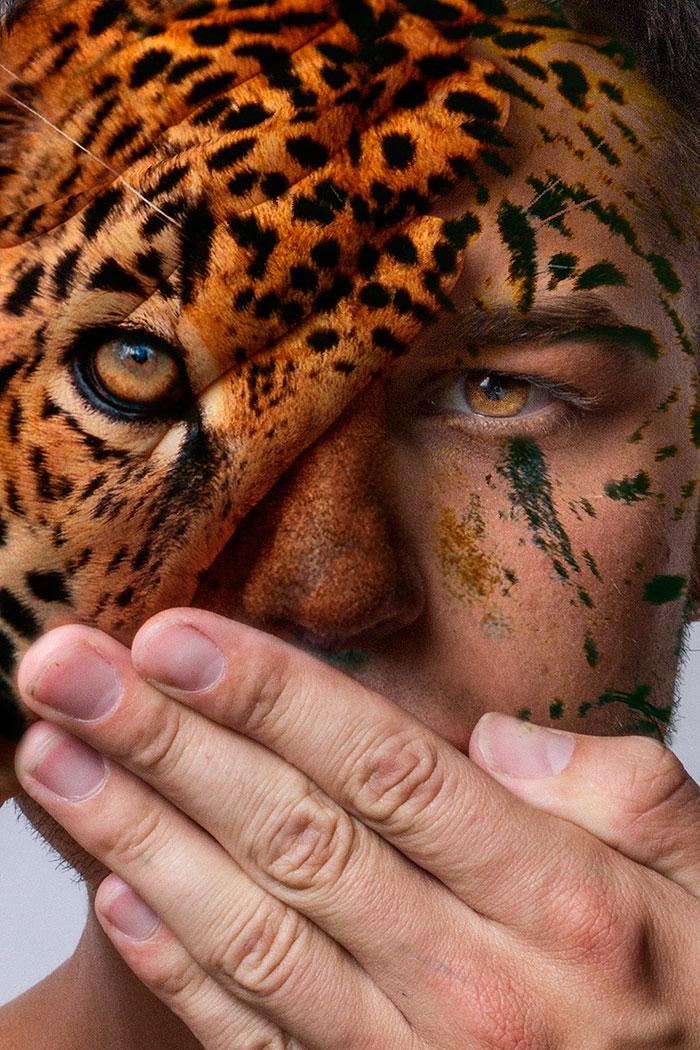 arte-ritratti-volti-umani-animali-faces-of-the-wild-david-mitchell-01