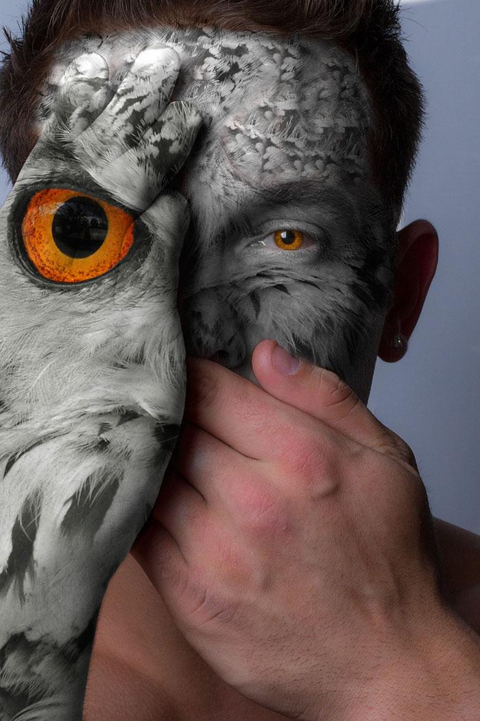arte-ritratti-volti-umani-animali-faces-of-the-wild-david-mitchell-03