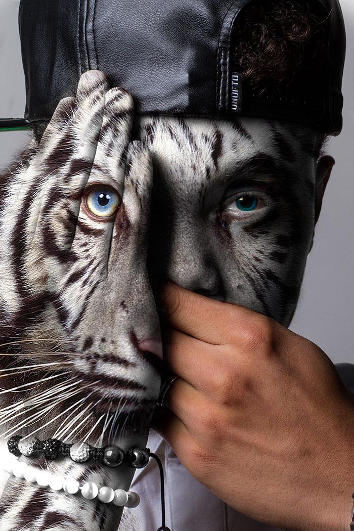 arte-ritratti-volti-umani-animali-faces-of-the-wild-david-mitchell-04