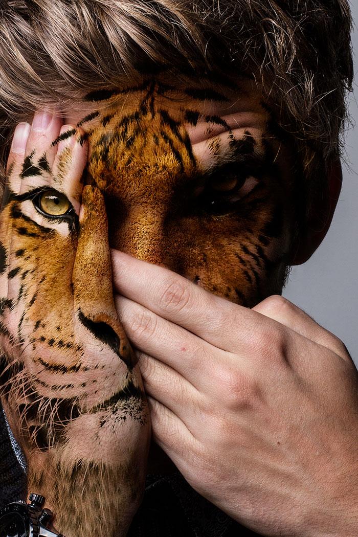 arte-ritratti-volti-umani-animali-faces-of-the-wild-david-mitchell-06