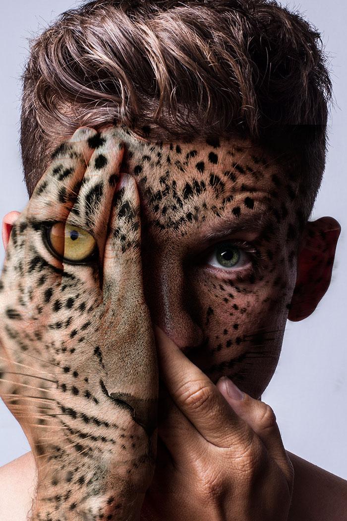 arte-ritratti-volti-umani-animali-faces-of-the-wild-david-mitchell-15