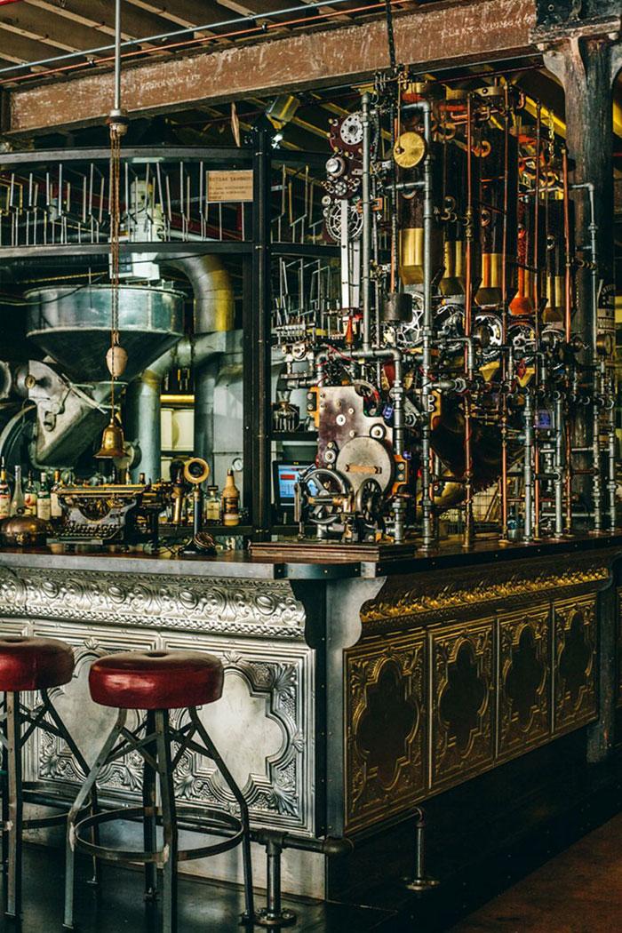 Design interni locali bar ristoranti creativi sensazionali for Siti design interni