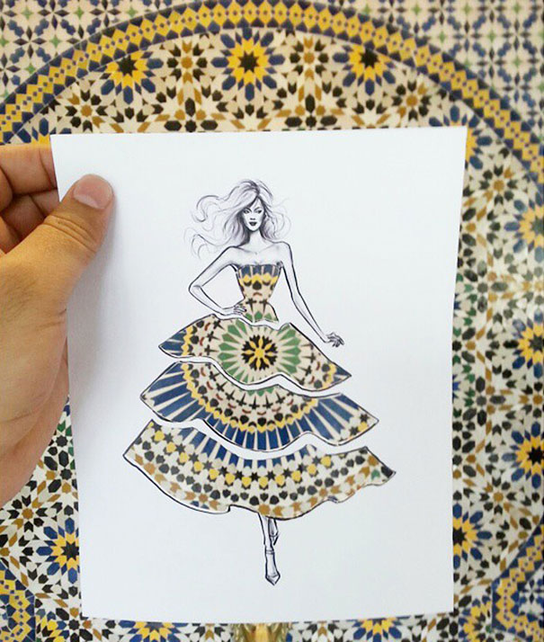 disegni-abiti-ritagliati-decorati-nuvole-palazzi-moda-shamekh-bluwi-3