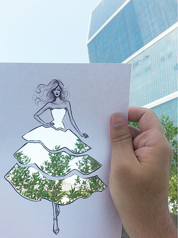 disegni-abiti-ritagliati-decorati-nuvole-palazzi-moda-shamekh-bluwi-5