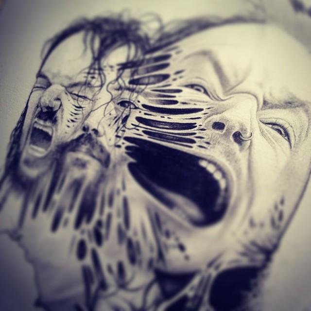disegni-teschi-scheletri-bianco-e-nero-raccapriccianti-paul-jackson-03