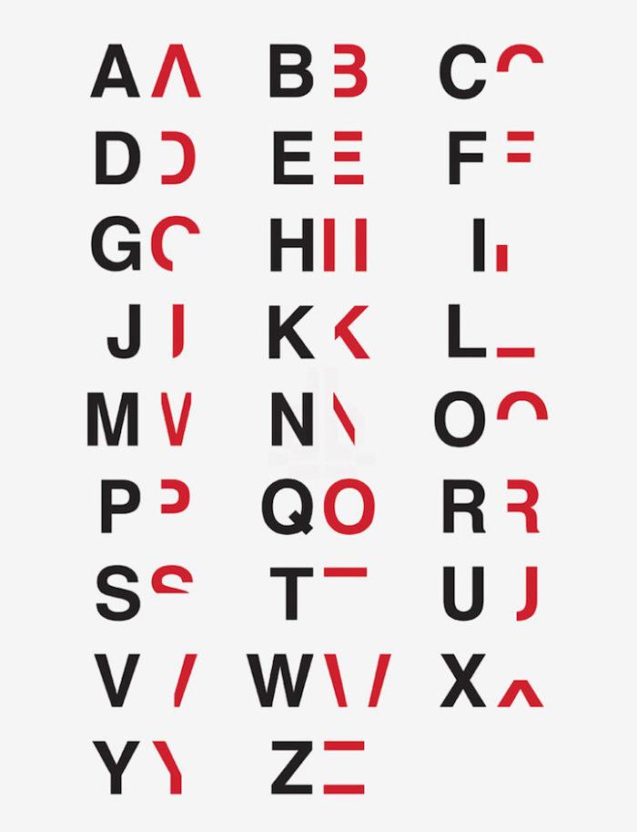 Extrêmement Un designer crea dei font per aiutarci a comprendere meglio la  FF96