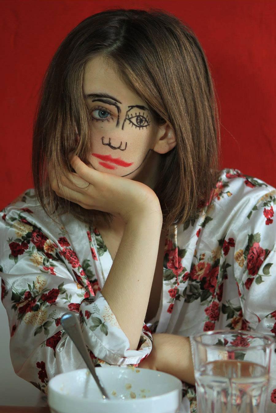 fotografia-arte-ritratti-ragazza-doppio-volto-doubleface-sebastian-Bieniek-07
