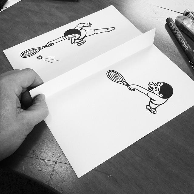 illustrazioni-disegni-penna-ilusioni-ottiche-divertenti-HuskMitNavn-03