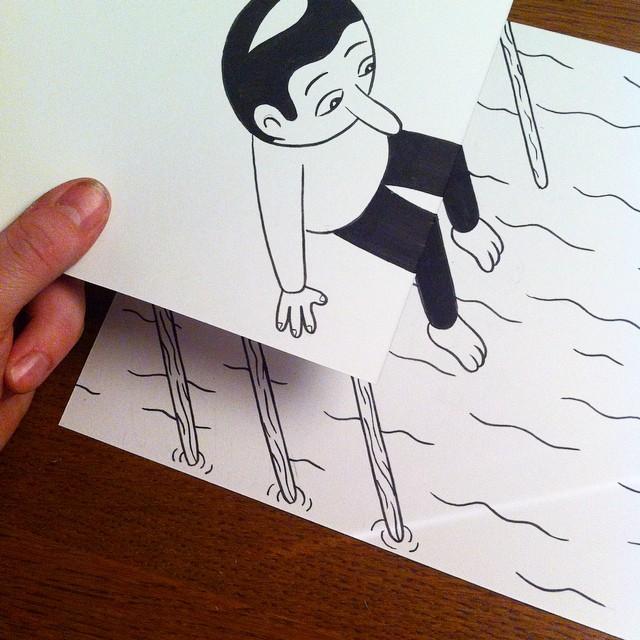 illustrazioni-disegni-penna-ilusioni-ottiche-divertenti-HuskMitNavn-05