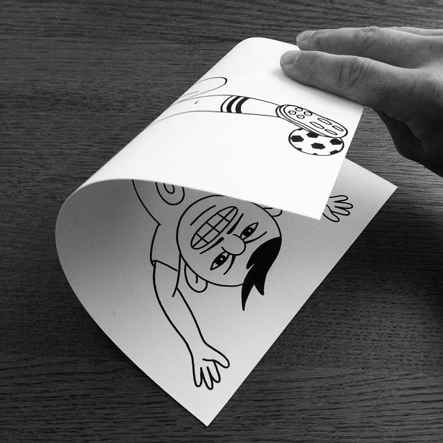 illustrazioni-disegni-penna-ilusioni-ottiche-divertenti-HuskMitNavn-09