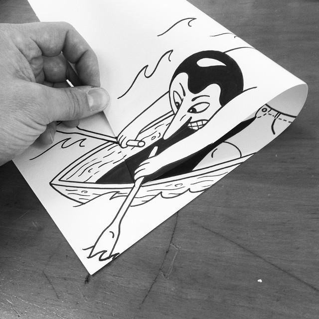 illustrazioni-disegni-penna-ilusioni-ottiche-divertenti-HuskMitNavn-10