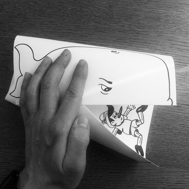 illustrazioni-disegni-penna-ilusioni-ottiche-divertenti-HuskMitNavn-13