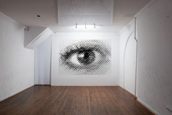 istallazione-arte-anamorfica-prospettiva-palline-sospese-occhio-Perceptual-Shift-7