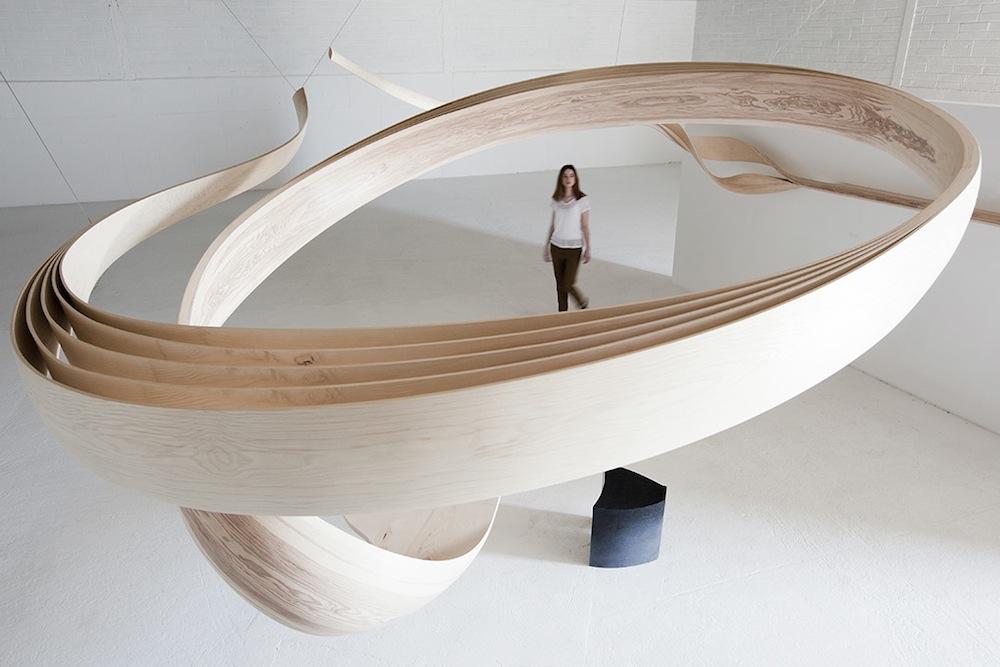 Mobili In Legno Design.Mobili E Oggetti In Legno Piegato Del Joseph Walsh Studio