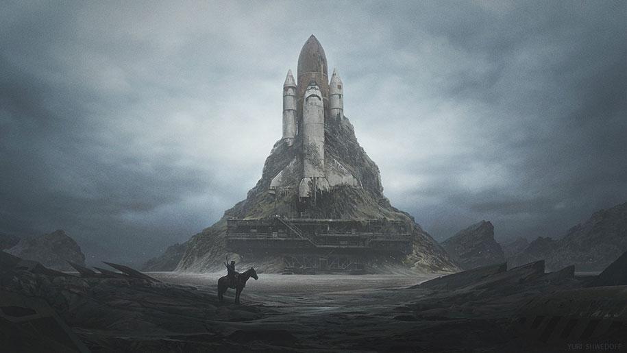 oscuri-mondi-post-apocalittici-illustrazioni-arte-yuri-shwedoff-14