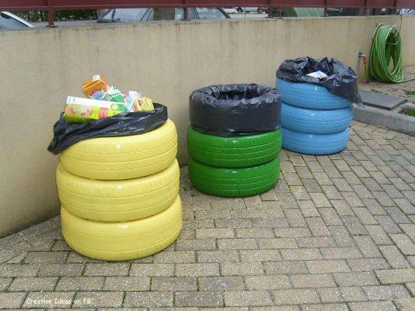 41 modi per riciclare i vecchi pneumatici keblog