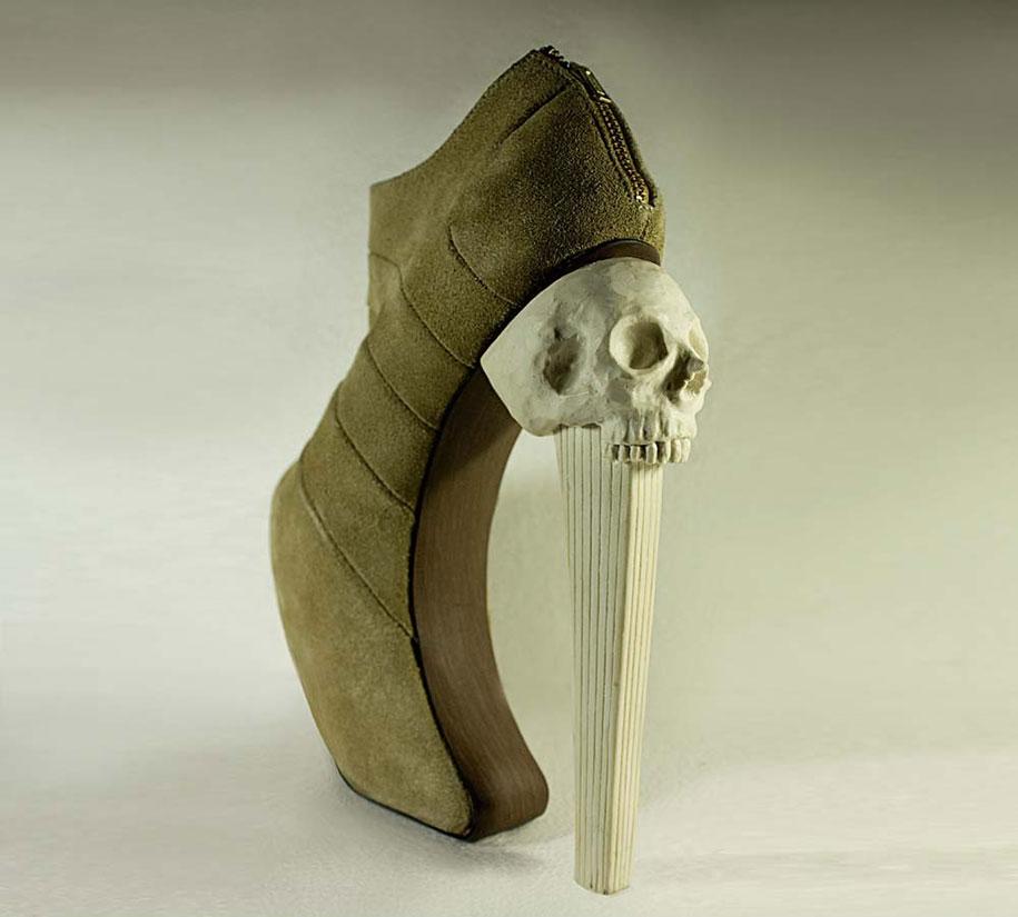 scarpe-donna-tacco-alto-piovra-tentacoli-kermit-tesoro-8