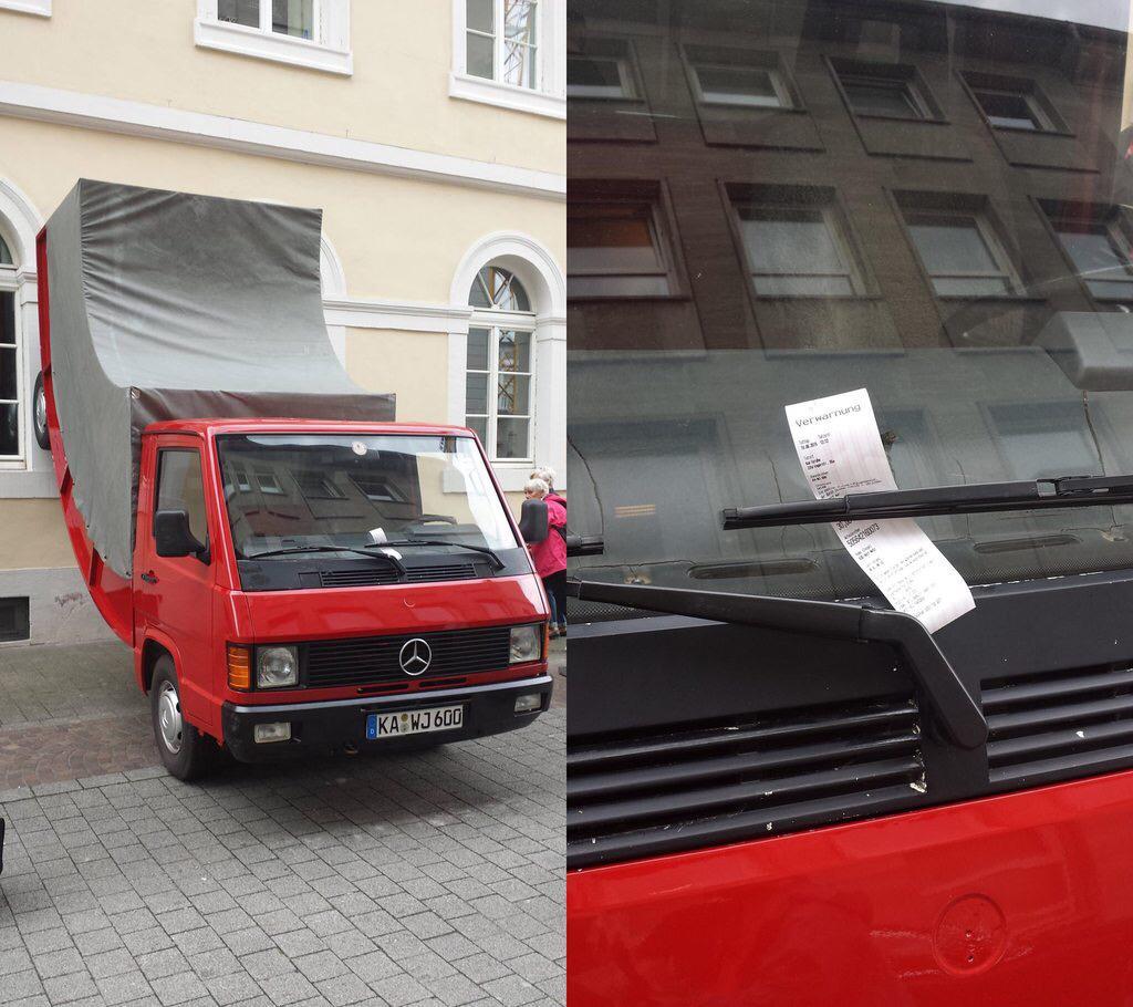 scultura-camion-inarcato-multato-germania-erwin-wurm-1
