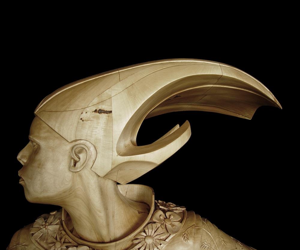 sculture-legno-figurative-realistiche-nuotatore-stefanie-rocknak-4