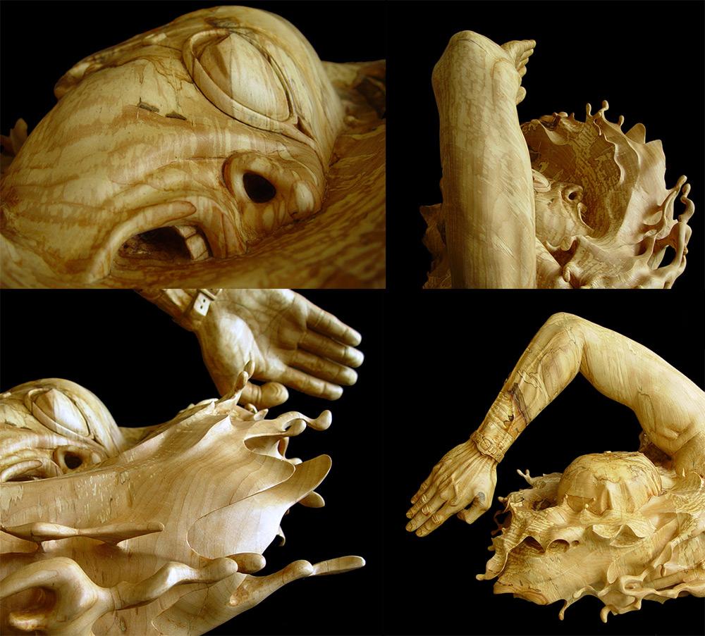 sculture-legno-figurative-realistiche-nuotatore-stefanie-rocknak-8