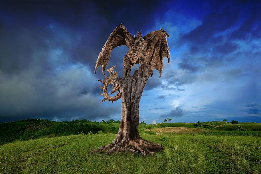 sculture-legno-riciclato-giganti-drahi-james-doran-webb-09