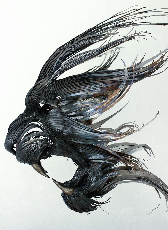 sculture-teste-animali-acciaio-ferro-battuto-selcuk-yilmaz-01