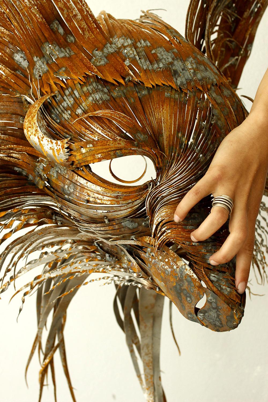 sculture-teste-animali-acciaio-ferro-battuto-selcuk-yilmaz-05