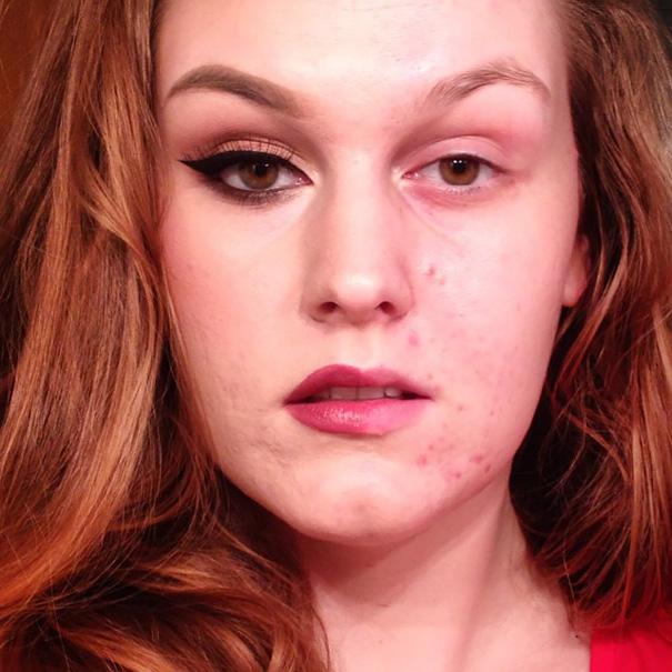 selfie-donne-metà-viso-makeup-video-trucco-12