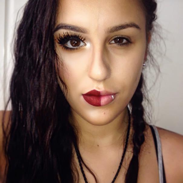 selfie-donne-metà-viso-makeup-video-trucco-17
