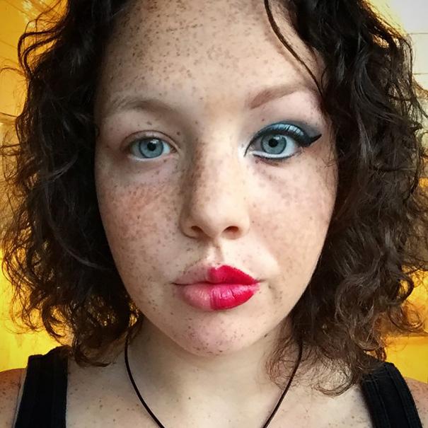 selfie-donne-metà-viso-makeup-video-trucco-27