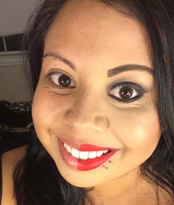selfie-donne-metà-viso-makeup-video-trucco-28