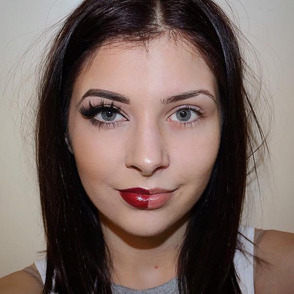 selfie-donne-metà-viso-makeup-video-trucco-30