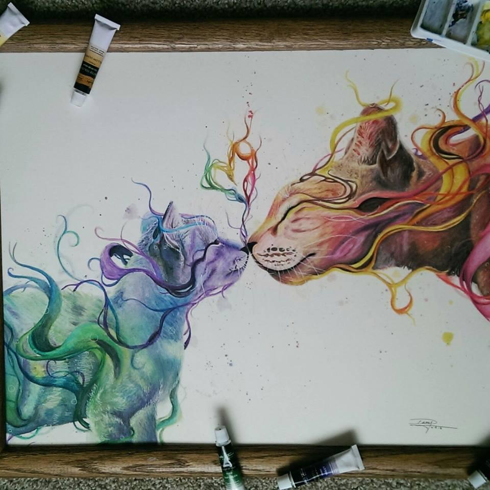 Préférence Artista autodidatta messicana di 17 anni crea stupendi acquarelli  CH81