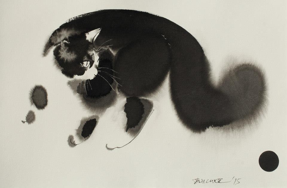 acquerelli-inchiostro-nero-carta-gatti-endre-penovac-4