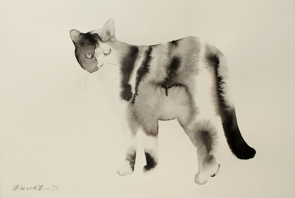 acquerelli-inchiostro-nero-carta-gatti-endre-penovac-6
