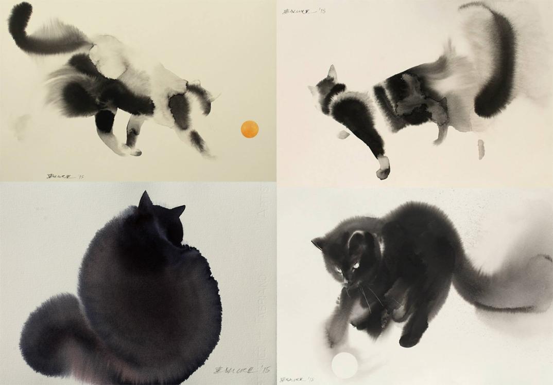 acquerelli-inchiostro-nero-carta-gatti-endre-penovac-8
