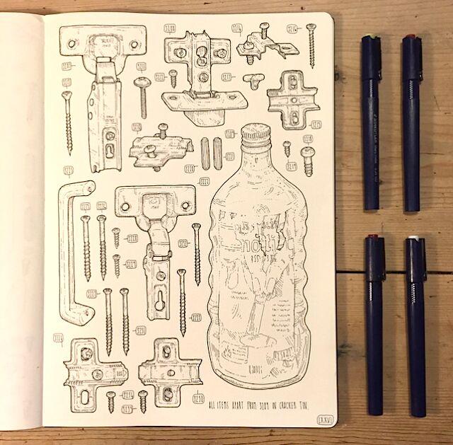 artista-commemora-nonno-disegna-attrezzi-lee-john-phillips-03