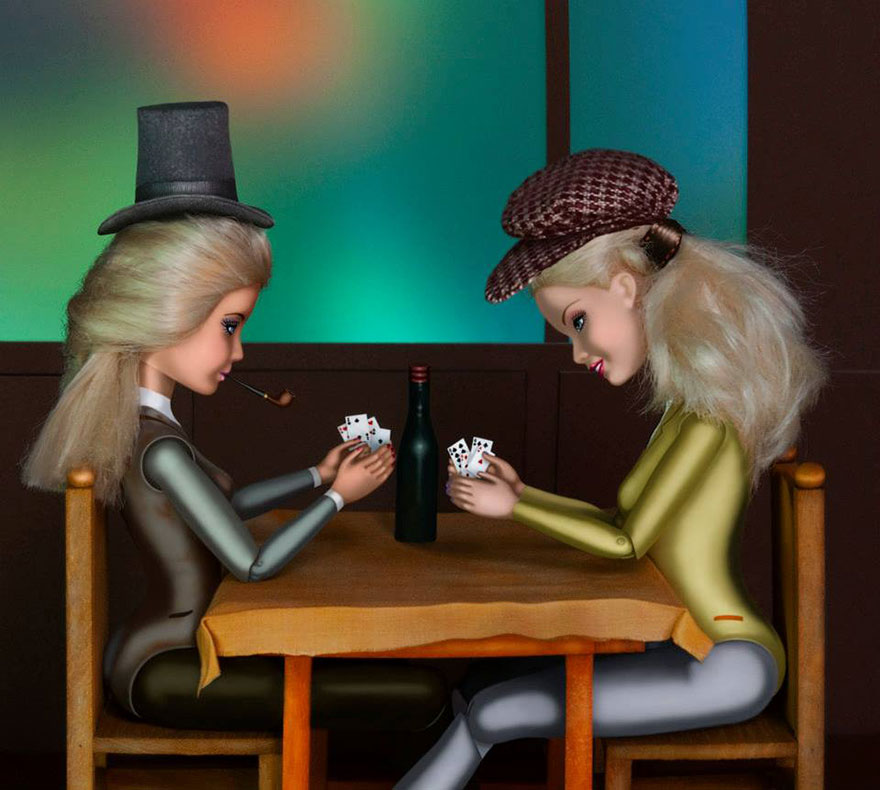 barbie-invadono-dipinti-famosi-03