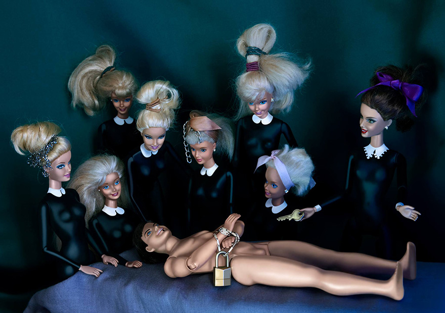 barbie-invadono-dipinti-famosi-05