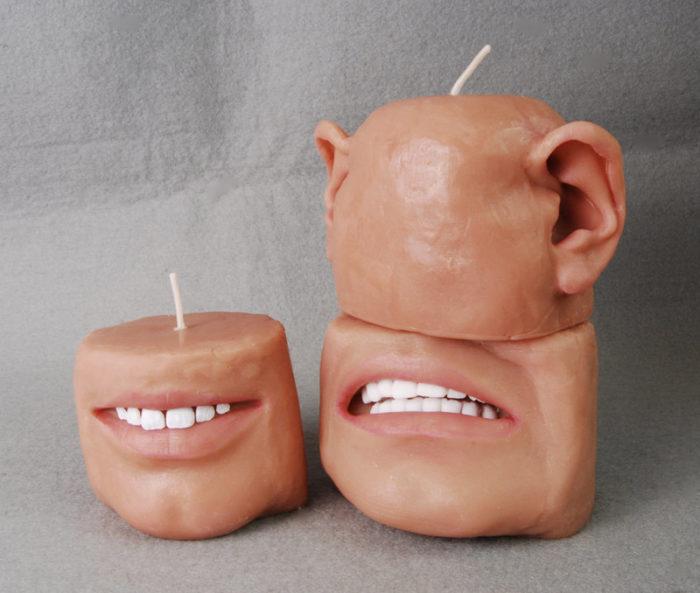 candele-profumate-raccapriccianti-bocca-orecchie-4