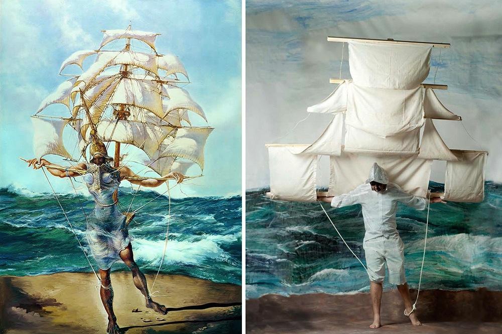 dipinti-famosi-interpretati-versione-fotografica-remake-2