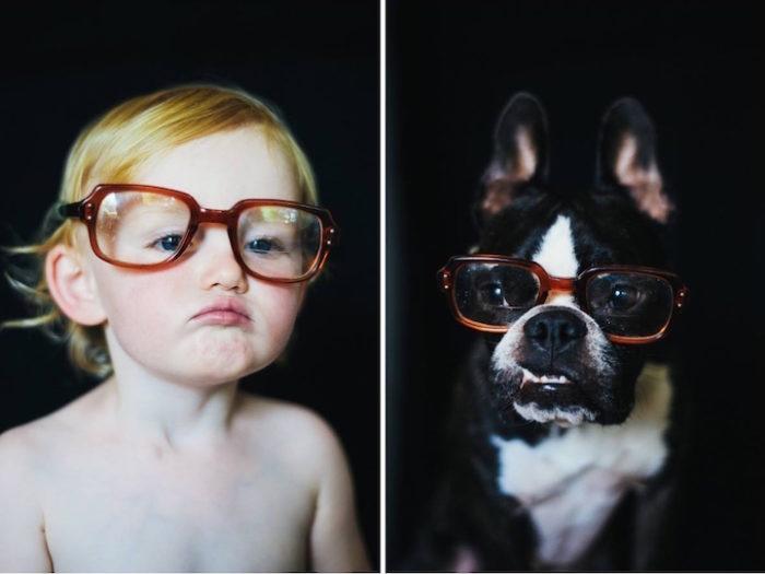 foto-bambina-cane-stessa-posa-vestiti-jesse-holland-01