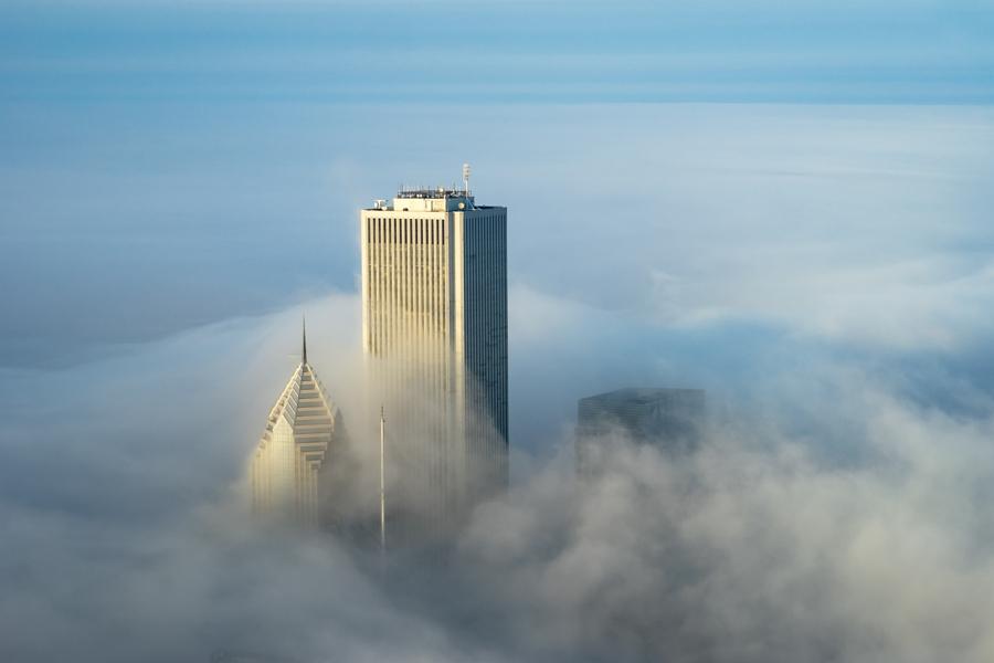 foto-grattacieli-chicago-nuvole-nebbia-peter-tsai-05